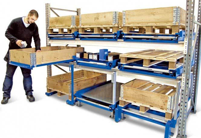 rack à tiroir pour le stockage à tiroir de palette