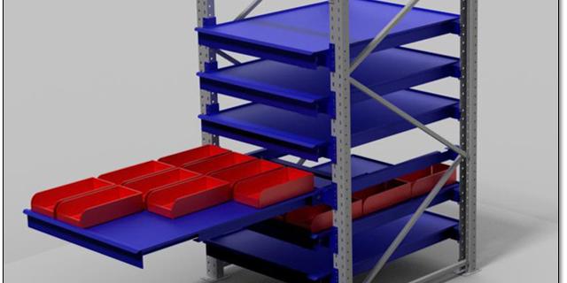 rayonnage à tiroir pour rack à palette