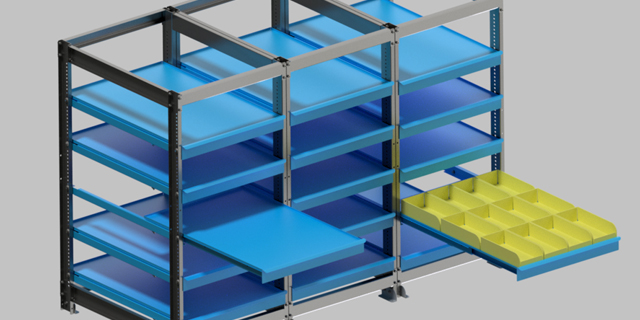rayonnage sous rack à palette