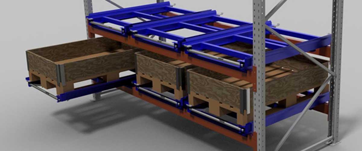 rack tiroir palette